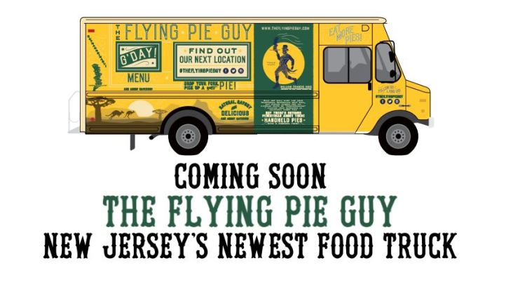 Flying Pie Guy Truck