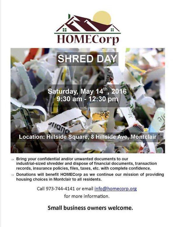 HomeCorp ShredFest May 2016