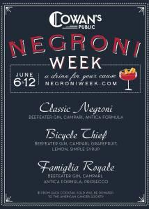 Cowans Negroni Week 6 2016